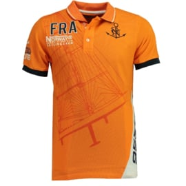 Polo Geographical Norway Kardashian Heren Orange