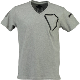 T-shirt Canadian Peak Joseph Heren Gris Melange