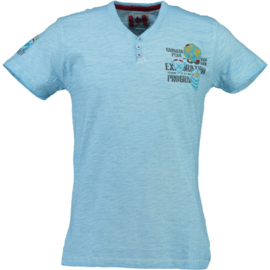 T-shirt Canadian Peak Isla Heren Blue (alleen maat M en XL)