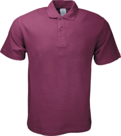 B&C Basic Polo Wine