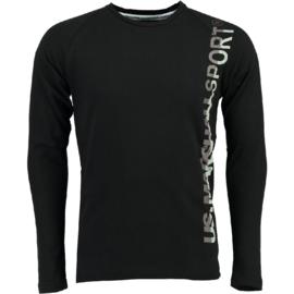 Longsleeve Shirt US Marshall Jupershall Heren Black