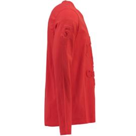 Longsleeve Shirt Canadian Peak Journa Heren Red maat M