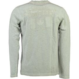 Longsleeve Shirt Canadian Peak Jeasy Heren Beige (alleen nog in Maat L)