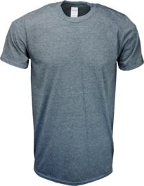 T-shirt Gildan Ronde Hals Grijs