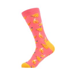 Vrolijke Sokken Banaan Maat 36-40