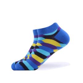 Vrolijke Sokken Zeshoek Maat 36-40
