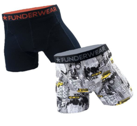2-Pack Funderwear Boxershorts Big City