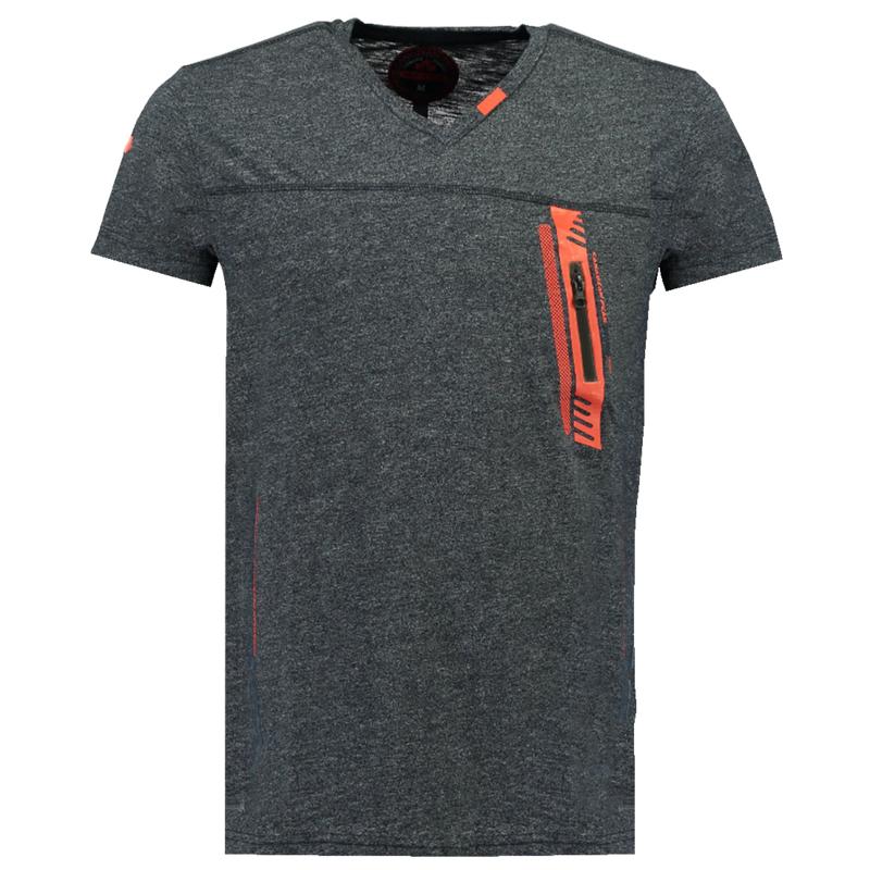 T-shirt Canadian Peak Josport Heren Gris Fonce