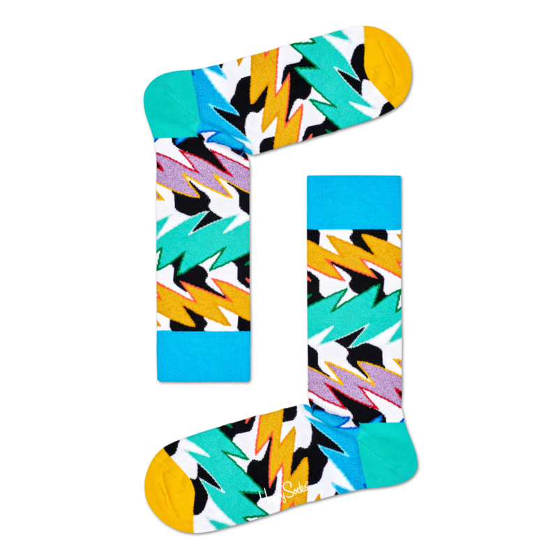 Happy Socks Rock N Roll Polka Stripe maat 41-46