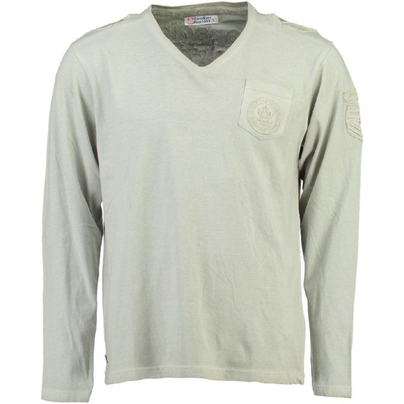 Longsleeve Shirt Canadian Peak James Heren Beige (alleen maat S)