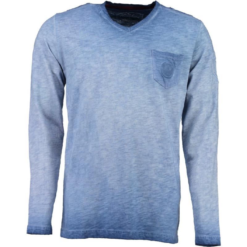 Longsleeve Shirt Canadian Peak James Heren Blue (alleen nog in maat XL)