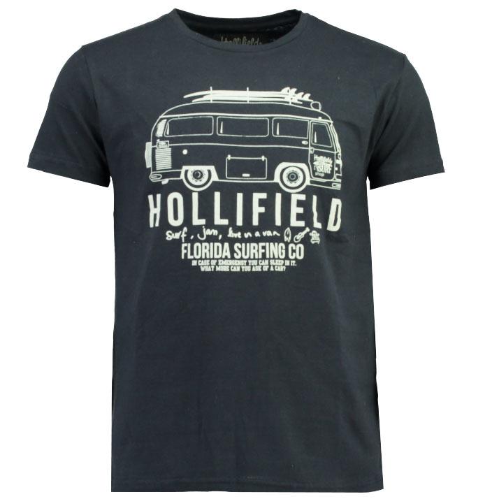 T-shirt Hollifield Jay Heren Navy