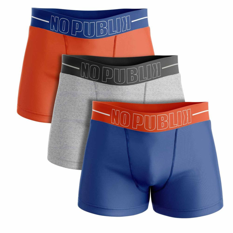 3-Pack No Publik Boxershorts