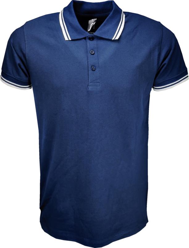 Sol's Polo Pasadena Heren Blauw-Wit