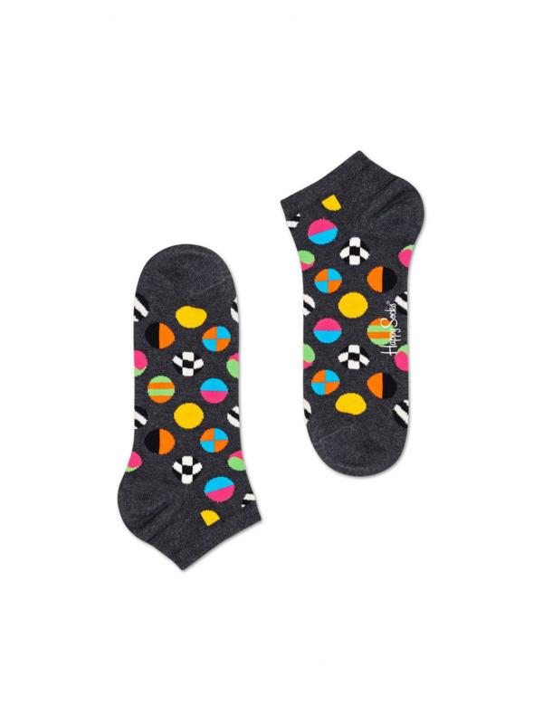 Happy Socks Clashing Dot Low Socks
