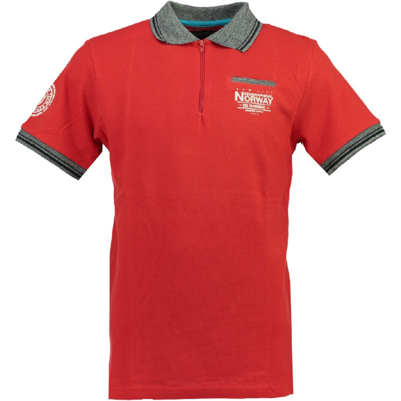 Polo Geographical Norway Kartus  Heren Red