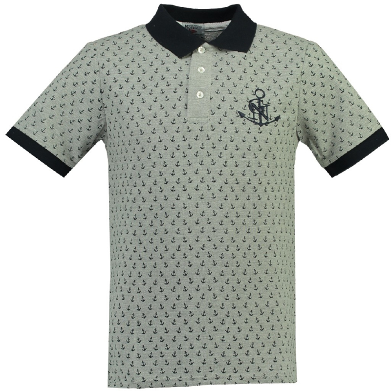 Polo Geographical Norway Karembeu Heren Blended Grey