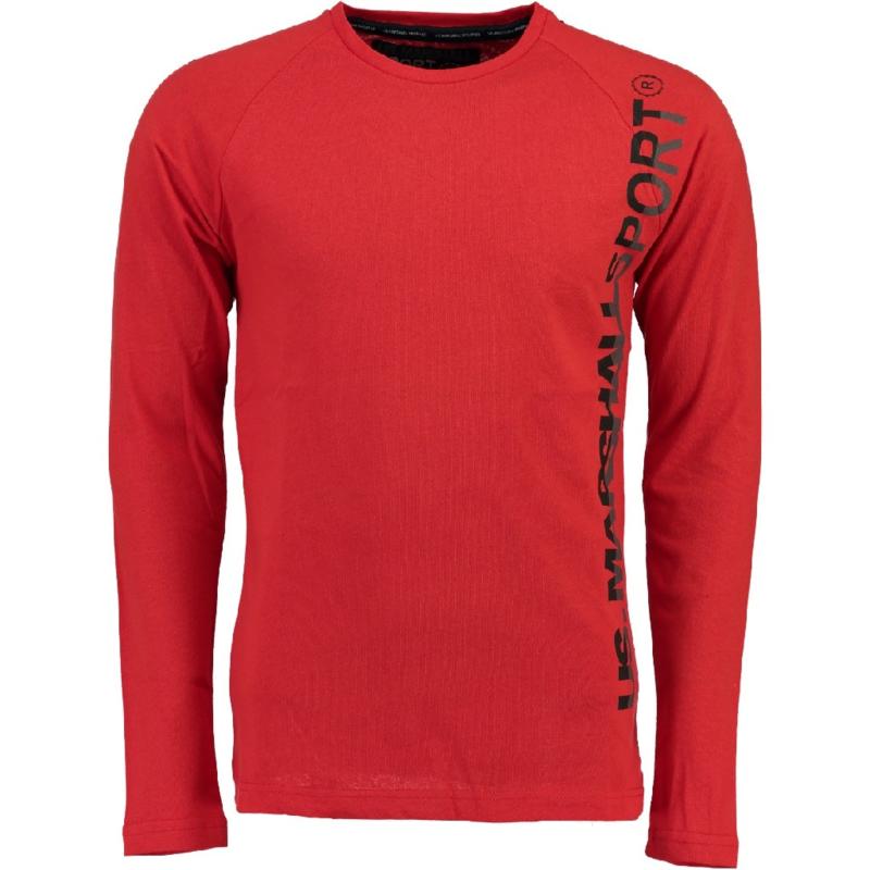 Longsleeve Shirt US Marshall Jupershall Heren Red