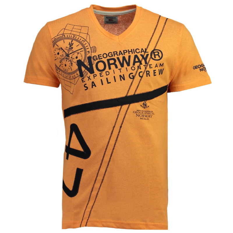 T-shirt Geographical Norway Jilly Heren Orange
