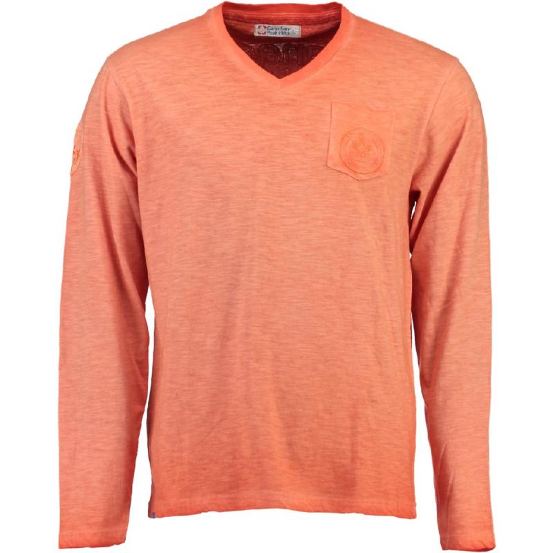 Longsleeve Shirt Canadian Peak Jeasy Heren Coral