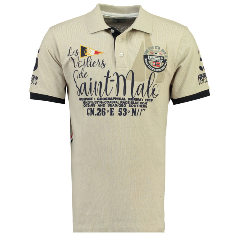 Polo Geographical Norway Kaco Heren Beige