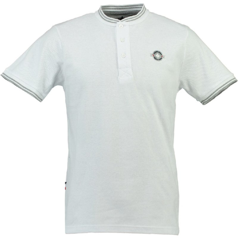 Polo Canadian Peak Karinga Heren Blanc