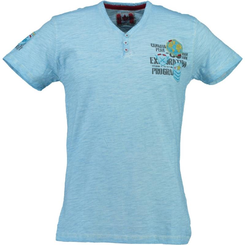 T-shirt Canadian Peak Isla Heren Bleu Ciel