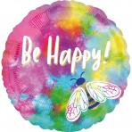 Folieballon- Be happy