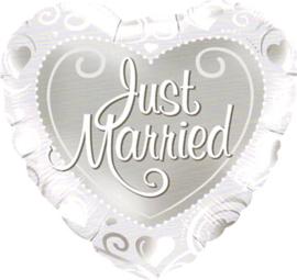 Huwelijk- Hart Just Married