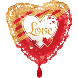 Valentijn- Love rood goud