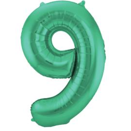Cijfer Mat Green- 9