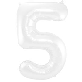 Cijfer Wit- 5