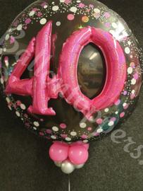 Folie 3D 40 pink