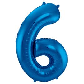 Cijfer Blauw- 6