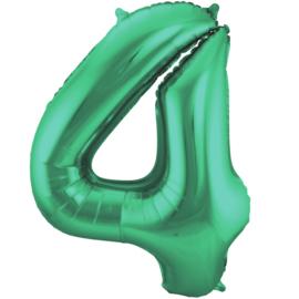 Cijfer Mat Green- 4