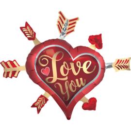Valentijn- Love you Arrows