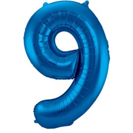 Cijfer Blauw- 9