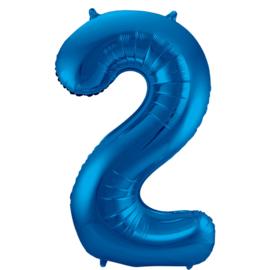 Cijfer Blauw- 2