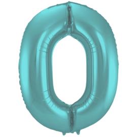 Cijfer XL- Pastel Aqua