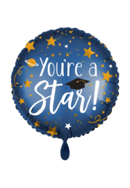 Folieballon- you're a star