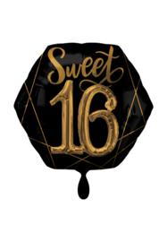 Sweet 16 3D black