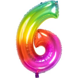 Cijfer Rainbow-6