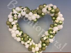 Special- Organic heart met bloemen
