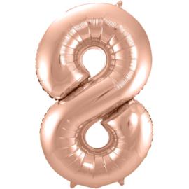 Cijfer Rosé Goud- 8