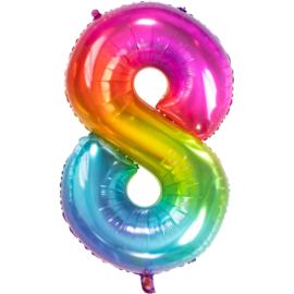 Cijfer Rainbow-8
