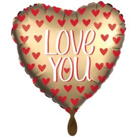 Valentijn- Love you goud