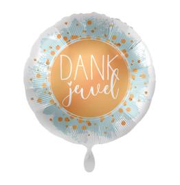 Folieballon- Dank je wel