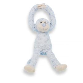 Knuffel- Slingeraap blauw