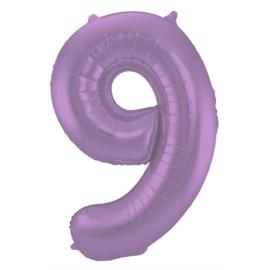 Cijfer Mat Paars- 9