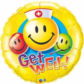 Beterschap- Get well! Smiley
